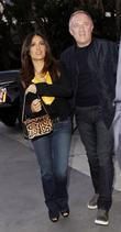 Salma Hayek, Francois-henri Pinault and Staples Center