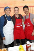 James Hong, Ben Mckenzie and Brian Tee