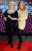 Adele King and daughter Naomi King The 50th...
