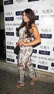 Lauren Goodger and Aura Nightclub