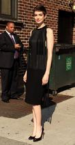 Anne Hathaway 'The Late Show with David Letterman'...