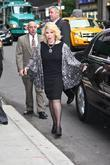 Joan Rivers  Celebrities arriving at The Ed...