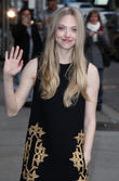 Amanda Seyfried, Ed Sullivan, The Late Show, David Letterman