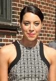 Aubrey Plaza  'The Late Show with David...