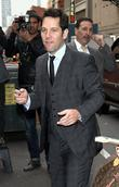 Paul Rudd and Ed Sullivan Theatre