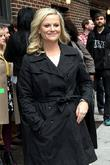 Amy Poehler Celebrities arrive at The Ed Sullivan...