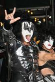 Gene Simmons, Paul Stanley, Kiss and Ed Sullivan Theatre