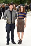 Callum Turner and Tali Lennox London Fashion Week:...