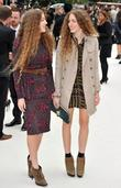 Guests London Fashion Week: Burberry Spring/Summer 2012 Fashion...
