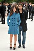 Julia Restoin Roitfeld and Robert Konjic London Fashion...