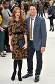 Rosalie Craig and Julian Ovenden London Fashion Week:...