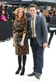 rosalie craig and julian ovenden london fashion wee