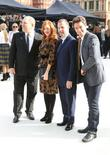 Harvey Weinstein, Rosalie Craig, Julian Ovenden, London Fashion Week
