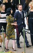 Dita Von Teese and Aaron Paul London Fashion...