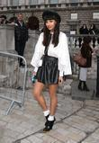 Jameela Jamil and London Fashion Week