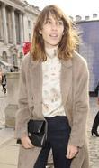 Alexa Chung London Fashion Week - Autumn/Winter 2012...