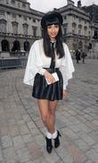 Jamelia and London Fashion Week