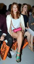 Gemma Arterton and London Fashion Week