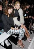 Alexa Chung, Pixie Geldof, London Fashion Week