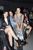Daisy Lowe and Pixie Geldof London Fashion Week...
