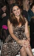 Kelly Brook  London Fashion Week Spring/Summer 2013...