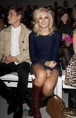 Oliver Cheshire and Pixie Lott London Fashion Week...