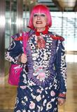 Zandra Rhodes and London Fashion Week