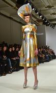 Model, Jaime Winstone and London Fashion Week