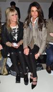 Jo Wood, Janice Dickinson and London Fashion Week