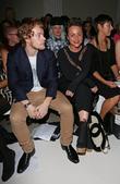 Alfie Allen and Jaime Winstone London Fashion Week...