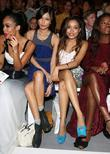 Gemma Chan and Dionne Bromfield London Fashion Week...