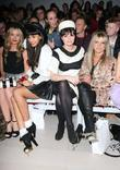 Laura Whitmore, Gizzi Erskine, Jameela Jamil, Jo Wood and London Fashion Week