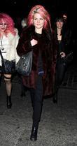 Alison Mosshart and London Fashion Week