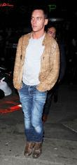 Jonathan Rhys Meyers and London Fashion Week