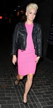 Kimberly Wyatt and London Fashion Week