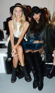 Poppy Delevinge and Jameela Jamil London Fashion Week...