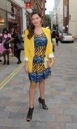 Kelly Brook, London Fashion Week