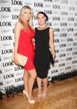Gemma Merna and Stephanie Waring Look magazine in...