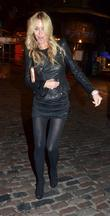 Melissa Odabash,  leaving Lydia Rose Bright's 21st...