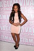 Angela Simmons  Mac Viva Glam Party at...