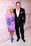 Nicki Minaj, John Demsey and Viva Glam Party