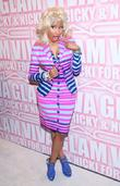 Nicki Minaj the MAC Cosmetics Viva Glam Party...