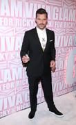 Ricky Martin the MAC Cosmetics Viva Glam Party...