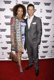 Tamara Tunie and Jeffrey Donovan