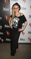 Avril Lavigne visits Abbey Dawn booth at the...