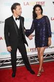 Matthew Mcconaughey, Camila Alves and Los Angeles Film Festival