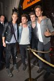 Left, Right, Ryan Fletcher, Joel Peat, Adam Pitts, Andy Brown and Lawson
