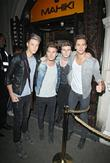 Left, Right, Ryan Fletcher, Joel Peat, Adam Pitts, Andy Brown, Lawson and Mahiki Club
