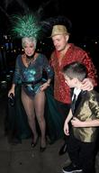 Denise Welch, Louis Healy and Lincoln Townley