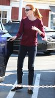 Marcia Cross At Farmers Martket In...
